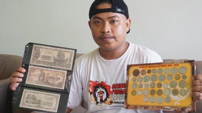 Diawali Rp 100 Edisi Sudirman, Kolektor Uang Ponorogo Ini Pernah Menjual Koleksinya Rp 40 Juta