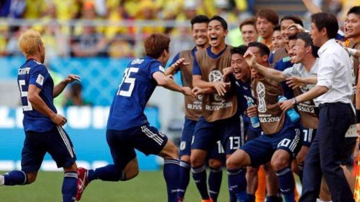 Hasil Piala Dunia 2018 Kolombia vs Jepang, Tim Samurai Biru Kalahkan Tim Asal Amerika Selatan