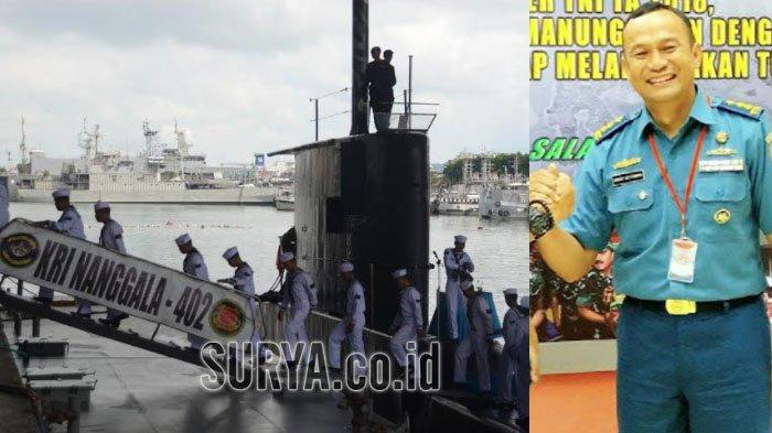 Kolonel Laut (P) Hari Setiawan (kanan) Komandan Kapal Selam Nanggala 402.