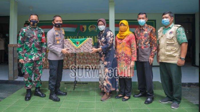 Desa Wonoasri Grogol Terbaik Penerapan PPKM Skala Mikro Jilid Pertama di Kabupaten Kediri