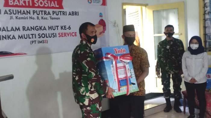 Enam Panti Asuhan di Kota Madiun Dapat Bantuan Dana dan Peralatan Cegah Covid-19 dari PT IMSS