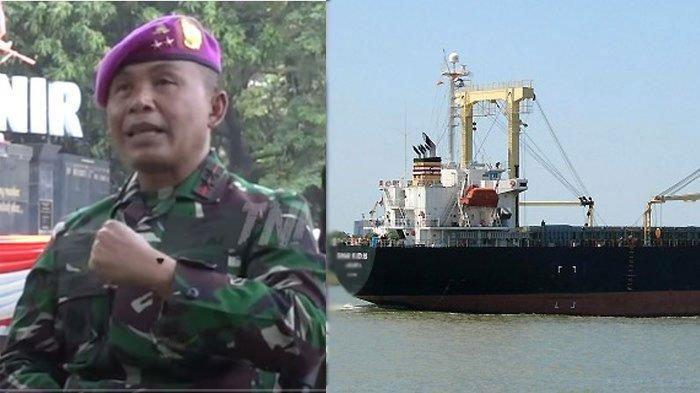Komandan Korps Marinir Mayjen TNI (Mar) Suhartono yang ikut dalam operasi pembebasan MV Sinar Kudus