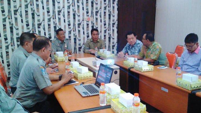 Koordinasi Kesiapsiagaan di Musim Hujan, Komisi 1 DPRD Situbondo Kunjungi BPBD Jatim