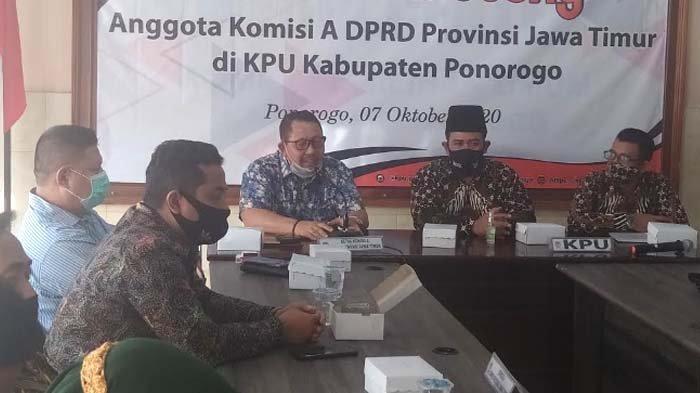 Komisi A DPRD Jatim Sebut Kotak Suara Keliling di Pilkada Serentak Potensi Timbulkan Polemik