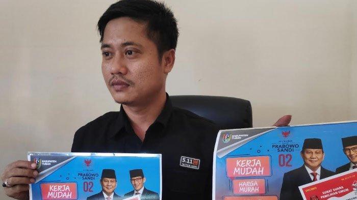 Bawaslu akan Panggil Badan Pemenangan terkait Kalender Prabowo Diduga Mirip Logo Pemkab Tuban