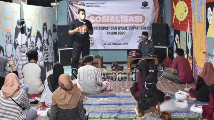 Pilkada 2020, KPU Kabupaten Gresik Ajak Generasi Milenial Jadi Pemilih Cerdas