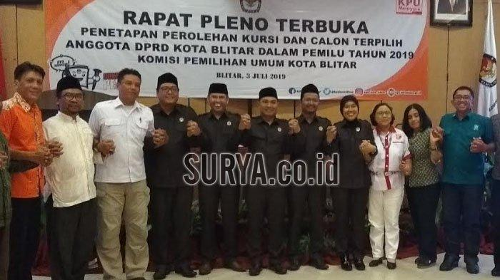 KPU Kota Blitar Tunda Penetapan Perolehan Kursi dan Calon Anggota DPRD, Ini Alasannya