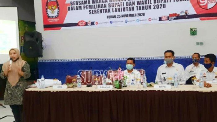 KPU Kabupaten Tuban : Banyak Warga Binaan yang Tak Tahu Calon Kepala Daerah