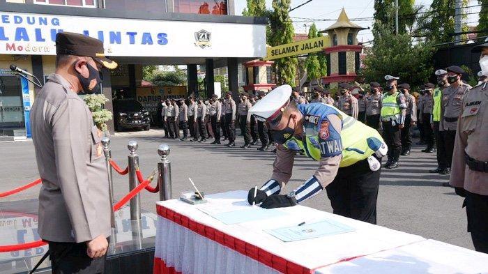 Perwira Polisi Lamongan Pasti Dipecat Kalau Pakai Narkoba, Kapolres Ajak Teken Komitmen Bersama