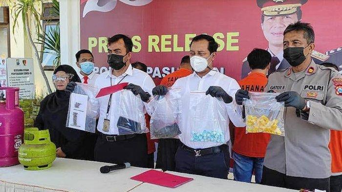 Polisi Cokok 4 Pengoplos LPG 3 Kg di Pasuruan, Gas 3 Kg Dipindah ke Tabung 12 Kg
