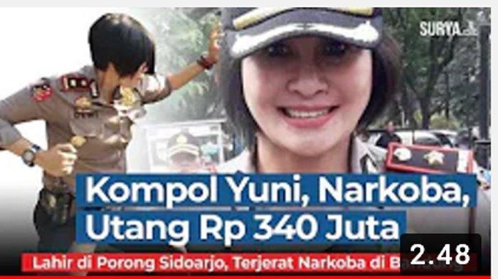 Update Kompol Yuni Purwanti Terjerat Narkoba, Pukulan Telak bagi Kapolri Listyo Sigit Prabowo