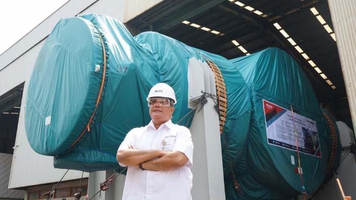 PT Barata Indonesia Ekspor Komponen Turbin Pembangkit Listrik ke Australia