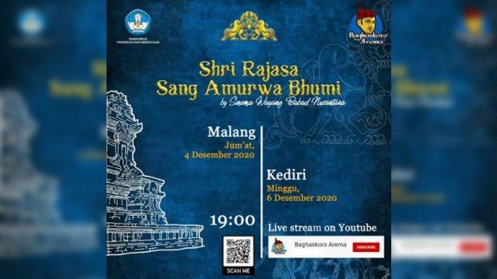 Komunitas Saba Nusa Gelar Pertunjukan Sinematik Shri Rajasa Sang Amurwabhumi