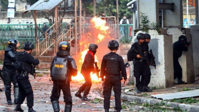 BREAKING NEWS- Polisi Tangkap 257 Tersangka Kerusuhan Aksi 22 Mei 2019, Kerusuhan Sudah Disetting