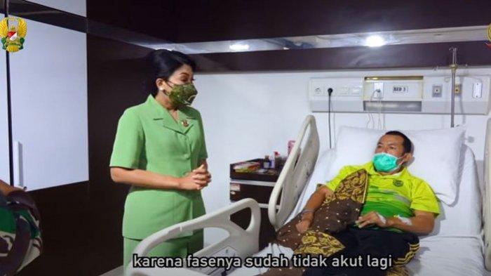Kondisi Kopka Ade Mantan Prajurit Kostrad Sudah Membaik, ini Harapan Istri Jenderal Andika Perkasa