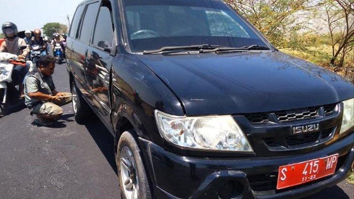 Mobil Dinas Camat Perak, Jombang, Terlibat Kecelakaan dengan Dua Motor, Seorang Luka