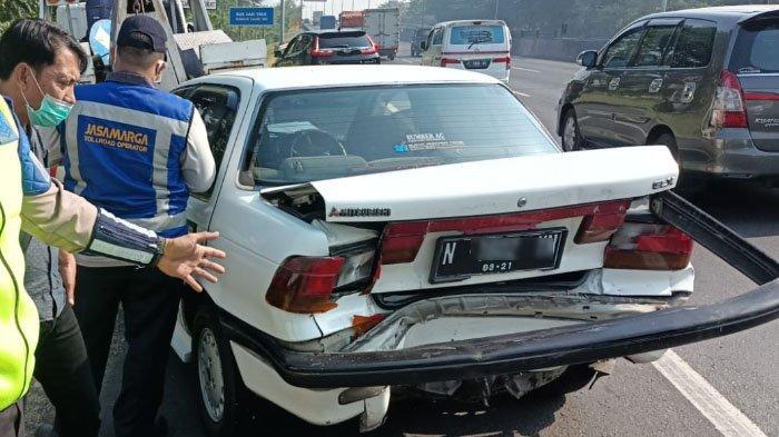 Tiga Mobil Tabrakan Beruntun di Tol Waru Sidoarjo, Bermula dari Pengereman Mendadak