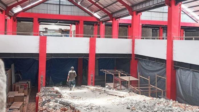 Pembangunan Kios di Lantai Dua Pasar Legi Kota Blitar Mulai Dikerjakan, Alokasi Anggaran Rp 7 Miliar