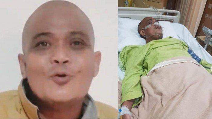 Kondisi Sapri Pantun yang kini dirawat di ICU rumah sakit
