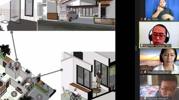 Desain Rumah Anti-Covid-19 pada Rumah Mewah di Surabaya, Ada Akses untuk Penyandang Disabilitas