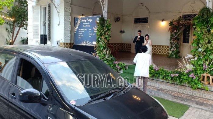Drive In, Konsep Baru Pesta Pernikahan Ala Cafe Kopi Kakak Kota Madiun di Tengah Pandemi Covid-19