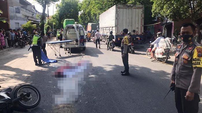Kecelakaan Tragis di Pantura Tuban, Korban Meninggal dengan Kondisi Mengenaskan Usai Dilindas Truk