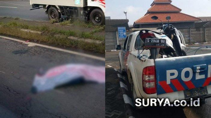 Diduga Kurang Fokus, Warga Jombang Meninggal Terlindas Truk Muatan Pasir di Mojokerto