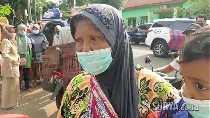 Korban Longsor di Nganjuk Lemas Rumahnya Habis Tertimbun, Berharap Dapat Tempat Tinggal Baru
