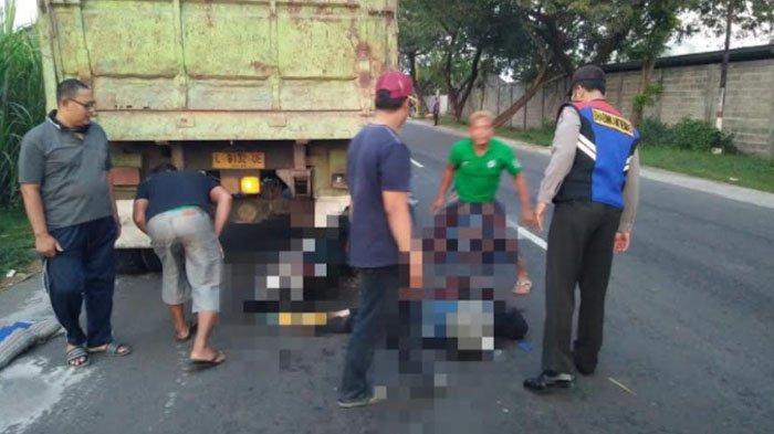 Warga Kayen Kabupaten Kediri Tewas Tabrak Truk Parkir di Pinggir Jalan