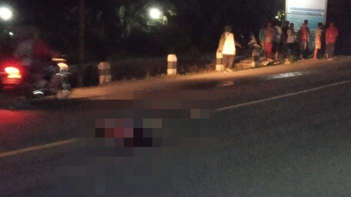Hendak Menyeberang Jalan, Pria Kediri Ini Tewas Tertabrak Mobil