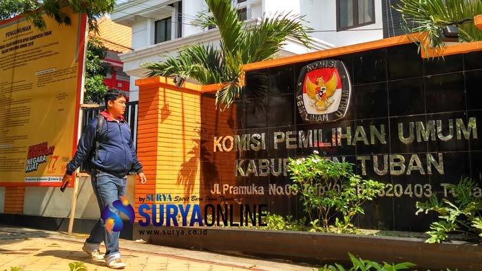 Jelang Pencoblosan, Ketua dan Staf KPU Kabupaten Tuban Dikonfirmasi Positif Covid-19