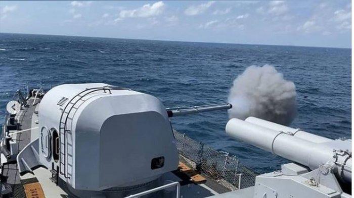 KRI Malahayati 362 TNI AL Tenggelamkan Kapal Musuh Jelang Latihan dengan Angkatan Laut Singapura