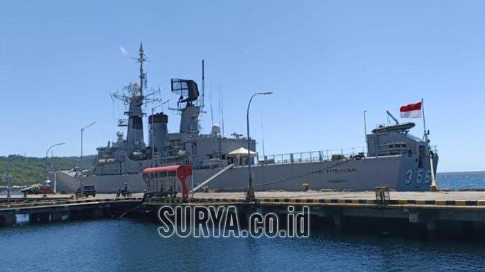 Pencarian KRI Nanggala 402 Terus Dilakukan, 5 KRI Disiagakan di Pelabuhan Tanjung Wangi Banyuwangi