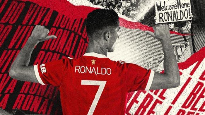 Cristiano Ronaldo kembali ke Man United