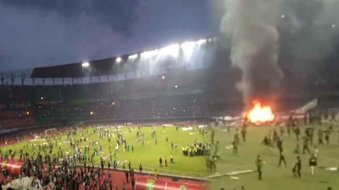Polda Jatim Bakal Usut Kericuhan di Stadion GBT Pasca Laga Persebaya Vs PSS Sleman, 'Sudah Olah TKP'