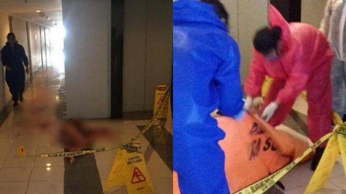 KRONOLOGI Wanita Tewas Bersimbah Darah di Depan Lift Apartemen Surabaya, Cuma Pakai Pakaian Dalam