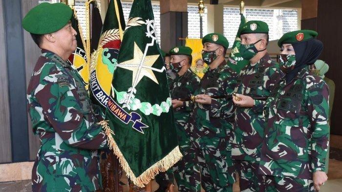 KSAD Jenderal Andika Perkasa memimpin sertijab dan kenaikan pangkat di Mabesad