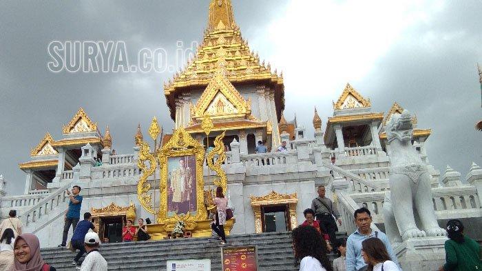 Nikmati Kemilau Patung Buddha Emas Murni 5 Ton dan Keunikan di Yaowarat