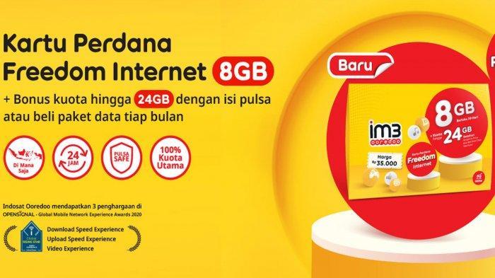 Kuota Internet Gratis Indosat Ooredoo hingga 2GB di Bulan Ramadan 2021, Simak Cara Mendapatkannya