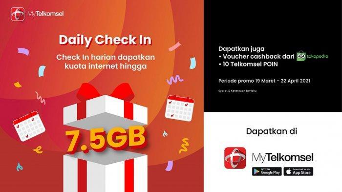Kuota Internet Gratis Telkomsel hingga 7,5 GB di Bulan Ramadan 2021, Cuma Sampai 22 April 2021