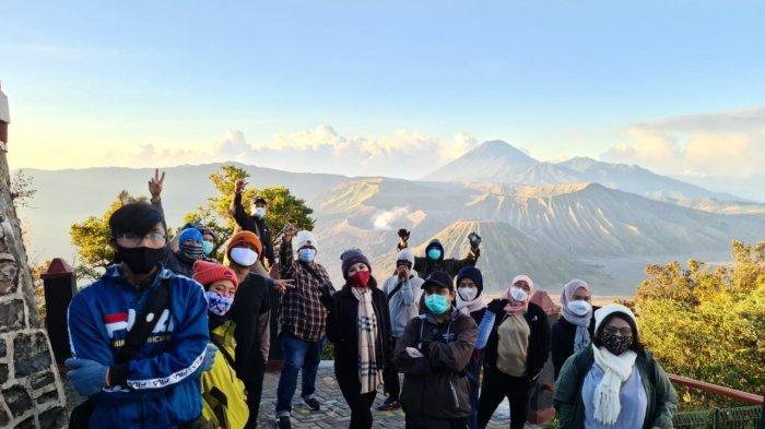 Pasca kembali Dibuka, Pengunjung Wisata Bromo Jalur Probolinggo mulai Ramai di Akhir Pekan