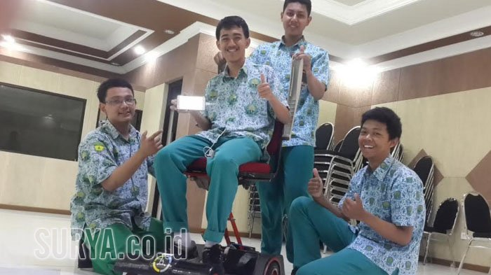 Kursi Roda Elektrik Berbasis Android untuk Kaum Disabilitas, Harganya Murah, begini Cara Kerjanya