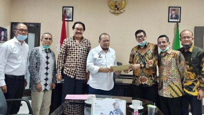 Bertemu La Nyalla, Pebisnis di Tanjung Perak Curhat Masalah Kepelabuhanan