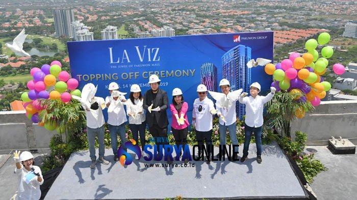 Pakuwon Group Lakukan Topping Off Apartemen La Viz Mansion, Akhir Tahun Target Laku 75 Persen