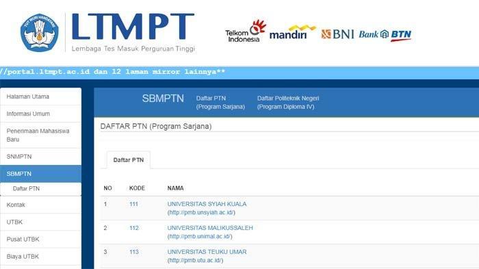 Peserta Lolos SBMPTN 2021 Harus Ikuti Ketentuan Lanjutan di PTN Pilihan