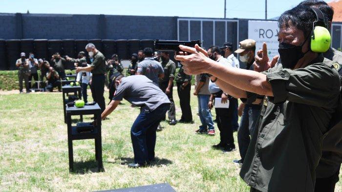 Dukung Fasilitas Atlet Tembak, Perbakin Jatim Resmikan Lapangan Tembak Hipakad Shooting Club
