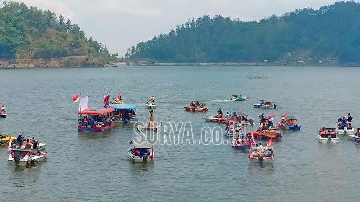 Telaga Ngebel Kabupaten Ponorogo Jadi Jujugan saat Libur Panjang, Perketat Protokol Kesehatan