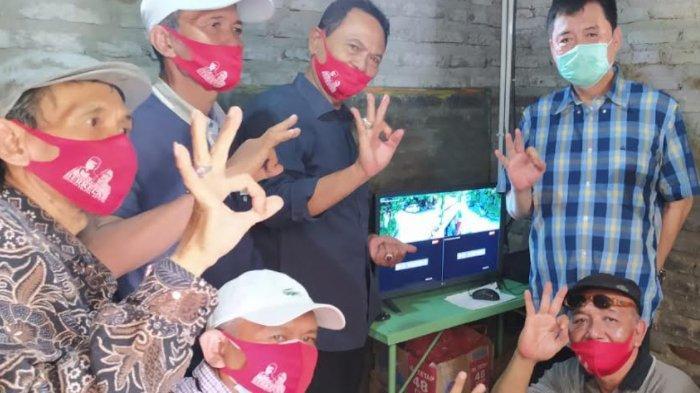 Akhiri Masa Kampanye, Kelana-Astutik Melaunching Kampung Waspada Pondok Jati