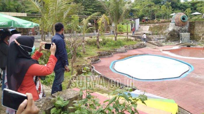 Kini Ada Wahana Air untuk Anak-anak di Wisata Setigi Desa Sekapuk Kabupaten Gresik
