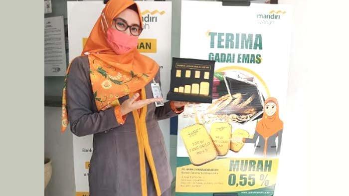 Mandiri Syariah Tingkatkan Layanan Gadai Emas Berkah untuk Area Surabaya